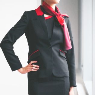 Network aviation airline uniform jacket